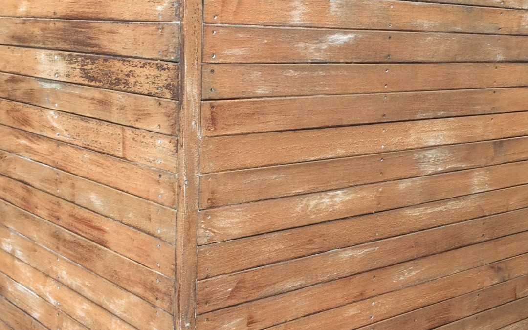 3 timber screen